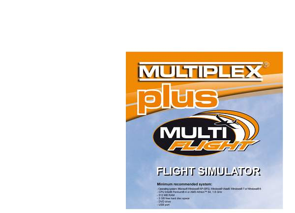 CD Flug-Simulator MULTIflight PLUS - Bild 1